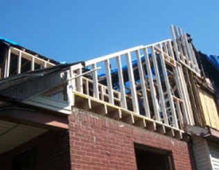 Residential Storm Damage Property Restoration Metro Detroit Michigan   - res-storm